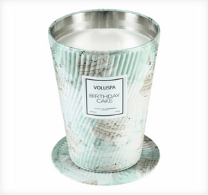 Voluspa 26 oz. Giant Ice Cream Cone Table Candle - 13 Hub Lane   |  Candle