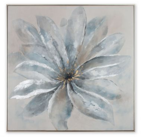 Framed Canvas Lustrous Bloom - 13 Hub Lane   |