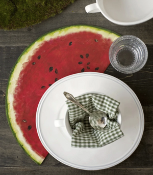 Die Cut Watermelon Placemats - 13 Hub Lane   |