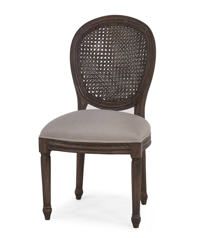 Tulip Rattan Dining Chair - 13 Hub Lane   |  Dining Chair