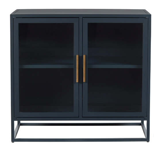 Santorini Short Metal Kitchen Cabinet - 13 Hub Lane   |  Accent Cabinet