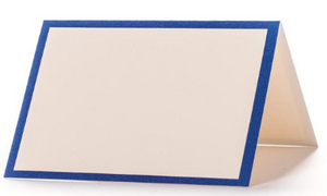 Blue Frame Place Card - 13 Hub Lane   |  Place Card