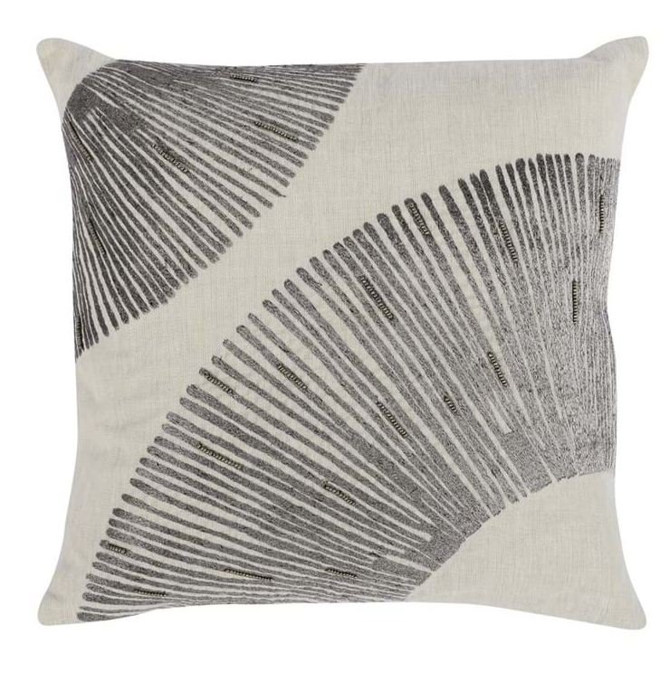 Leda Charcoal Pillow - 13 Hub Lane   |