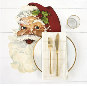 Die-Cut Santa Placemat