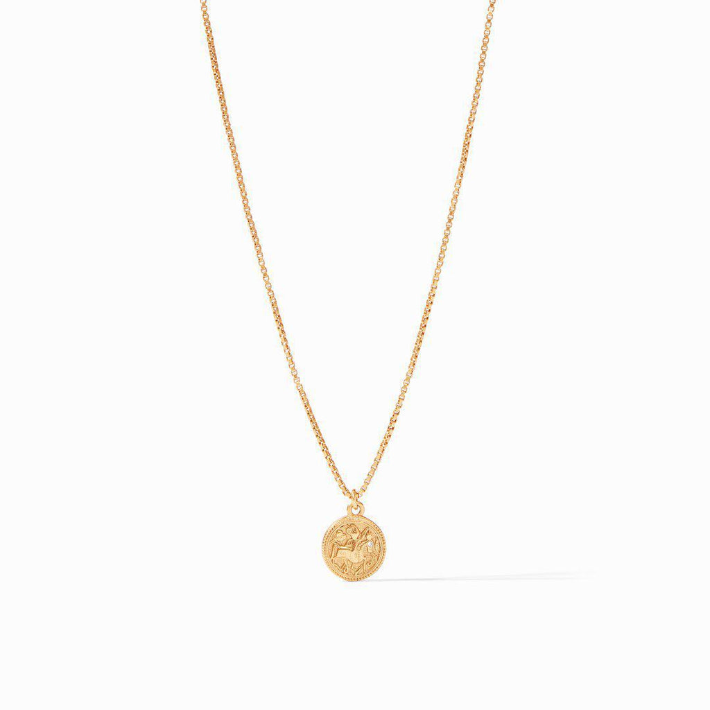 Julie Vos Coin Charm Necklace - 13 Hub Lane   |