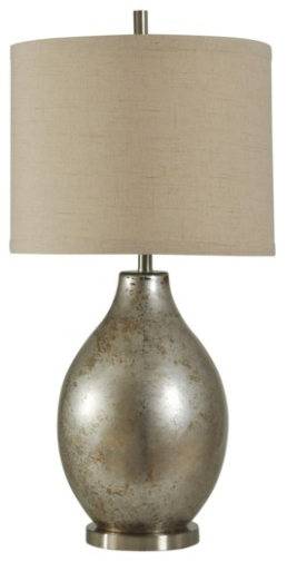 058-Table Lamp - Hudson Falls | Mercury Glass - 13 Hub Lane - Style Craft Table Lamp