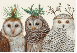 Winter Owls Placemats - 13 Hub Lane   |