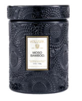 Voluspa Embossed Glass Jar Candle - 13 Hub Lane   |  Candle