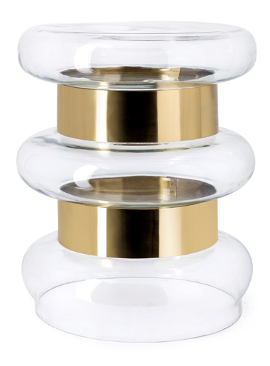 Bebir Glass Accent Table - 13 Hub Lane   |  Side/Accent Table