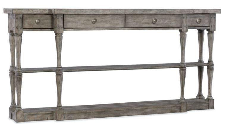 Console Table HKR 4Drwr Sanctuary Narrow