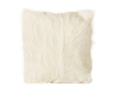 Goat Fur Pillow - 13 Hub Lane   |