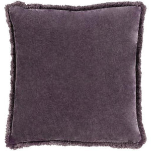 Washed Cotton Velvet Pillow - 13 Hub Lane   |  Decorative Pillow
