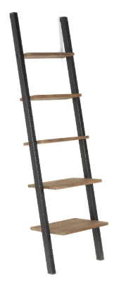 Bella Ladder Book Shelf Iron - 13 Hub Lane   |  Bookshelf