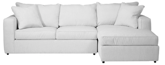 Milford 3 PC Sectional - DISPLAY ONLY
