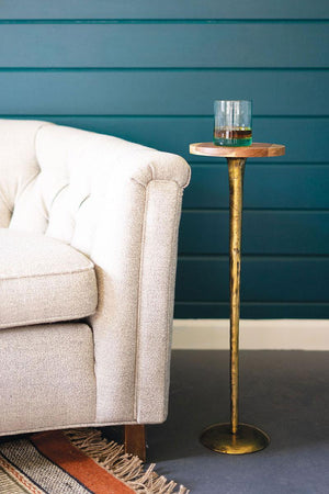 Antique Brass Cocktail Table - 13 Hub Lane   |