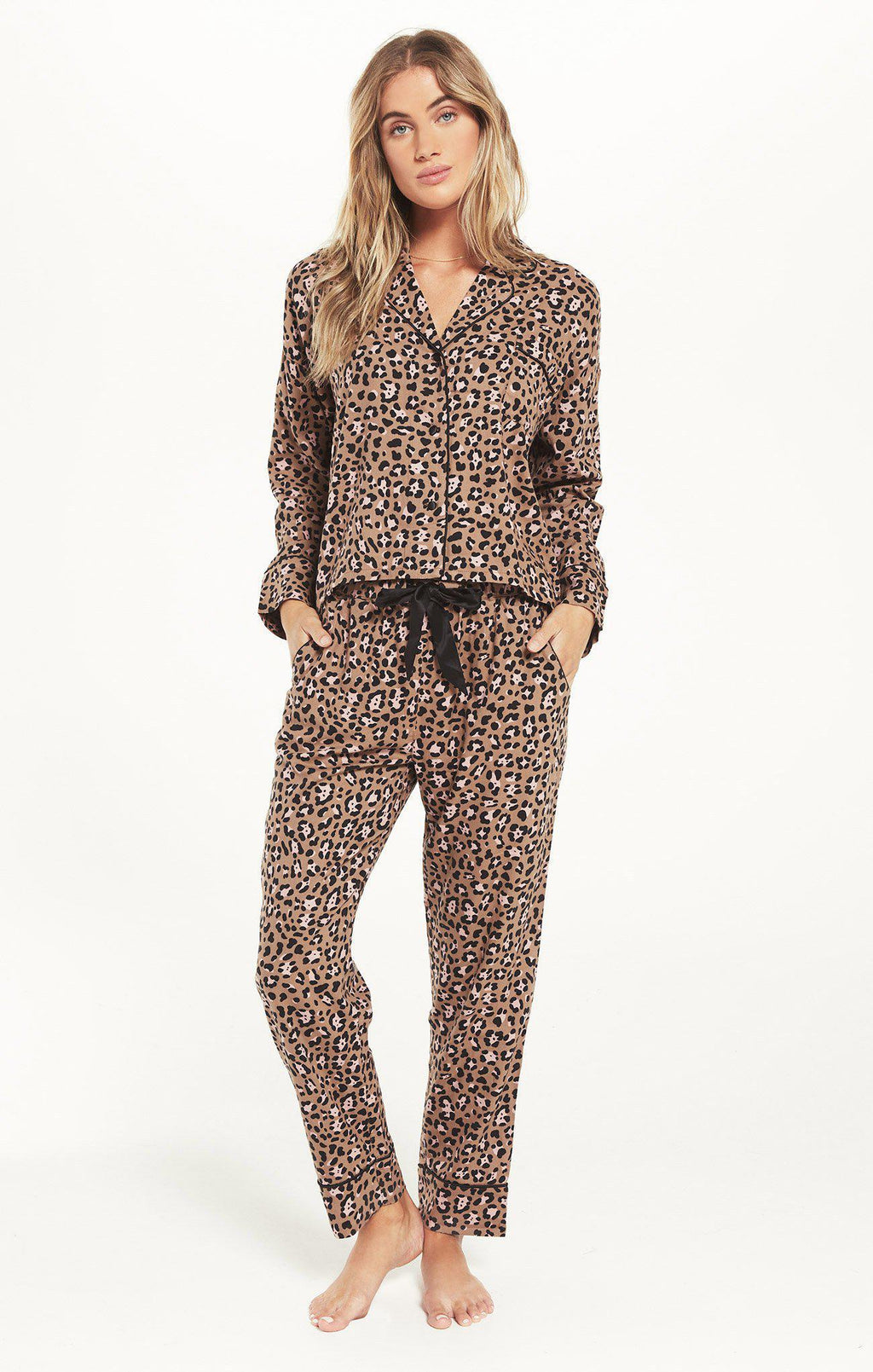 Z Supply Dream State Leopard PJ Set - 13 Hub Lane   |