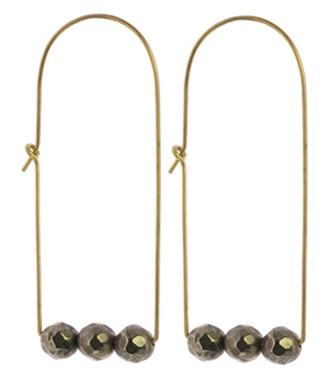 Ava Earrings - 13 Hub Lane   |  Earrings