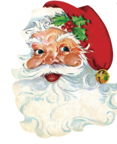 Die-Cut Santa Placemat - 13 Hub Lane   |