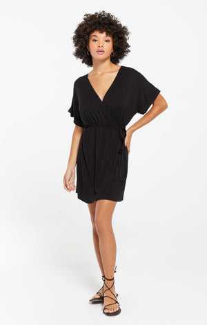 Z Supply Torre Sleek Wrap Dress - 13 Hub Lane   |
