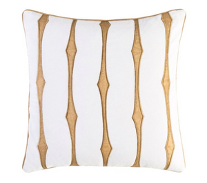 Graphic Stripe Pillow - 13 Hub Lane   |  Decorative Pillow
