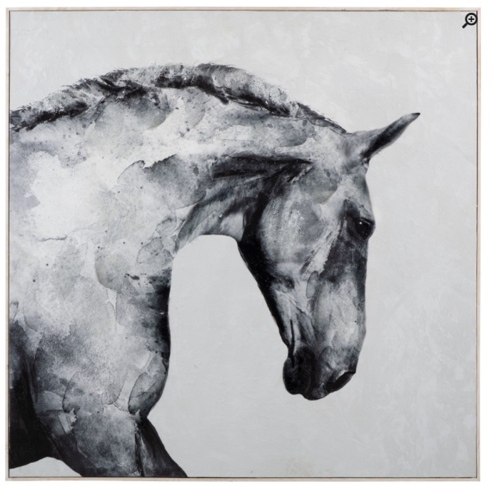 Stallion Framed Wall Decor