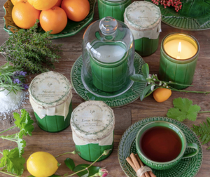 Green Crockery Candle - 13 Hub Lane   |