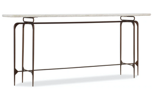 Skinny Metal and Marble Console - 13 Hub Lane   |
