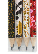 Floral Assorted Writing Pencil Set - 13 Hub Lane   |