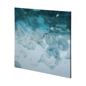 Aerial Blue I Wall Art - 13 Hub Lane   |  Wall Art