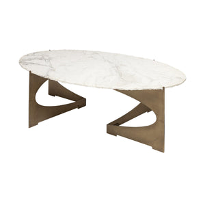 Reinhold III Oval Coffee Table - 13 Hub Lane   |