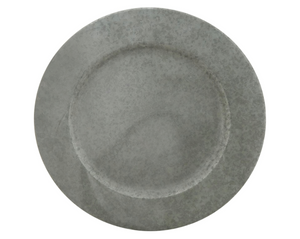 Distressed Metal Charger Plate - 13 Hub Lane   |