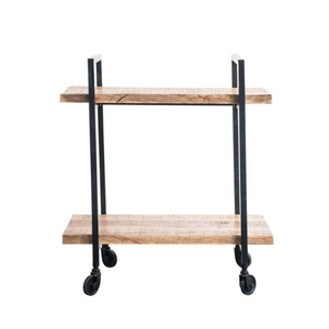 2-Tier Cart on Casters - 13 Hub Lane   |
