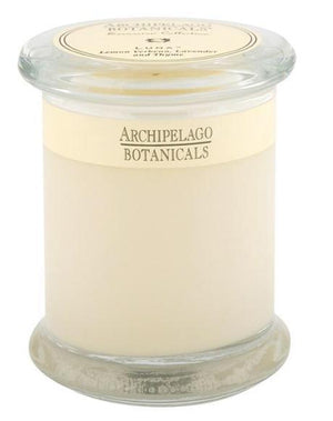 Archipelago Luna Glass Jar 8.6 oz. Candle - 13 Hub Lane   |