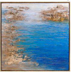 Cobalt Tenor Oil Painting IMAX - 13 Hub Lane   |