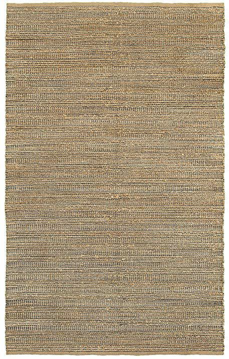Natural Fiber Gray Indoor Area Rug - 13 Hub Lane   |  Rug