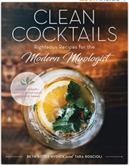 Cookbook GISM Clean Cocktails Righteous Recipes - 13 Hub Lane   |  Book