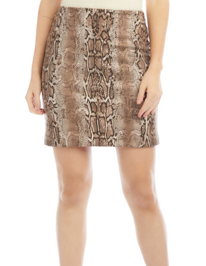 Fifteen Twenty Faux Suede Mini Skirt - 13 Hub Lane   |