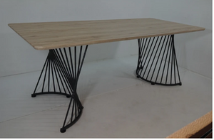Double Pedestal Dining Table - 13 Hub Lane   |