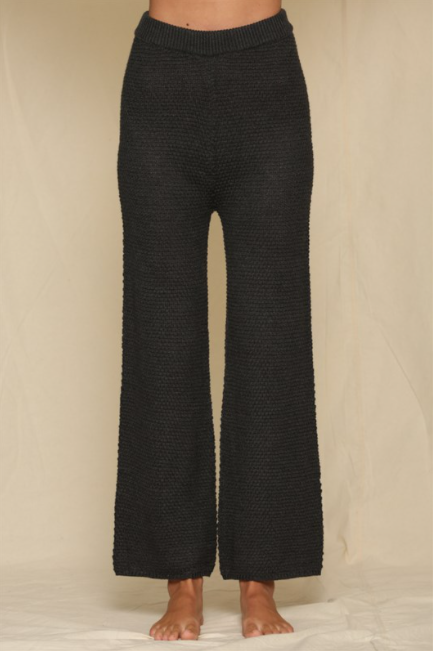 Knit Wide Leg Pants - 13 Hub Lane   |
