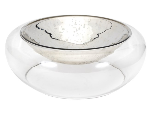 Luxe Decorative Glass Bowl