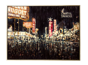 Retro Vegas 1950 Fremont Wall Art