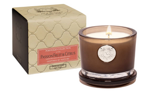 Passion Fruit & Citrus Small Candle in Gift Box - 13 Hub Lane   |  Candle