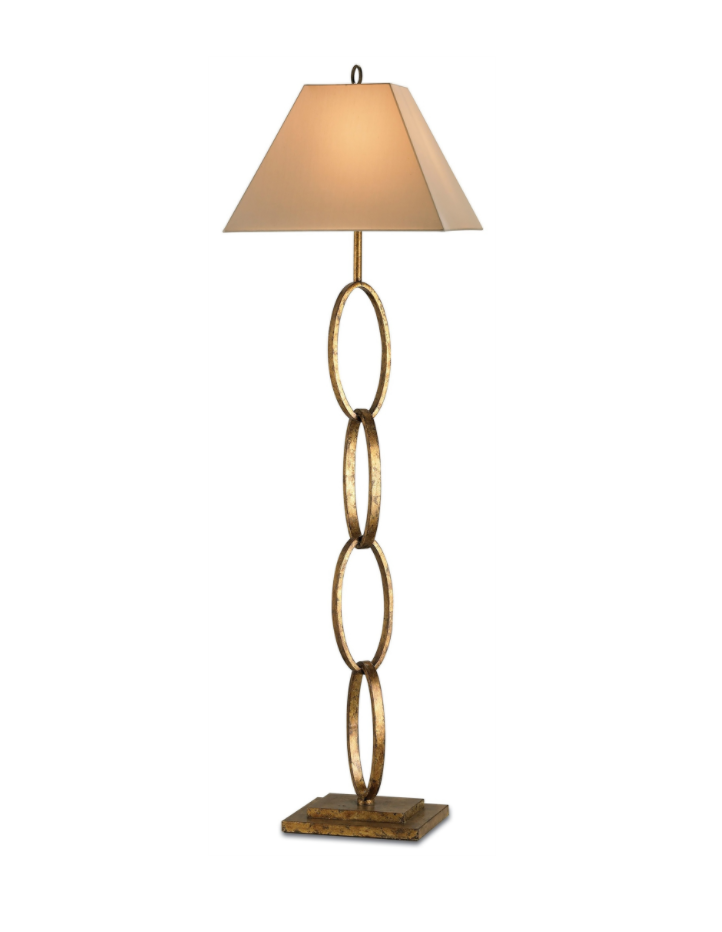 Bangle Gold Floor Lamp