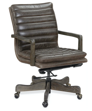 Langston Swivel Desk Chair - 13 Hub Lane   |