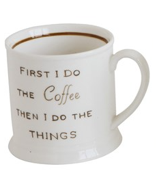 Mug w/ Coffee Saying - 13 Hub Lane   |