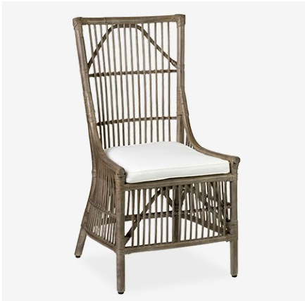 Winston Rattan Dining Side Chair - 13 Hub Lane   |  Chair