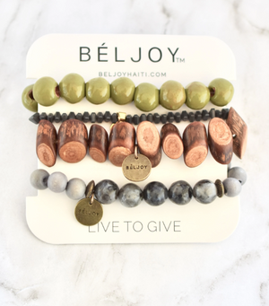 The Milot Bracelet Stack - 13 Hub Lane   |  Bracelet