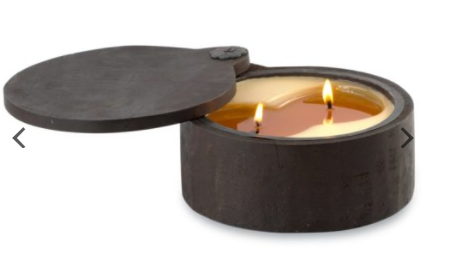 Candle HIMA Wood Spice Pot - 13 Hub Lane   |  Candle