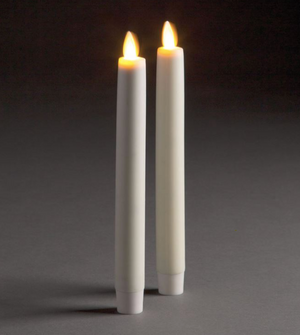 LightLi Moving Flame Indoor Tapers, Set of 2 - 13 Hub Lane   |  Candle