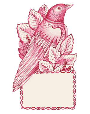 Lovebird Place Card - 13 Hub Lane   |  Place Card